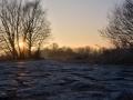 Die untergehende Sonne